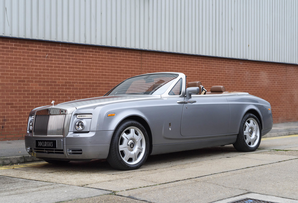 2008 Rolls-Royce Phantom Drophead (LHD) For Sale (picture 1 of 24)