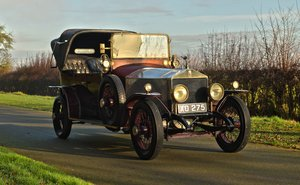 Picture of 1920 Rolls Royce Silver Ghost Henri Binder Victoria hood. For Sale