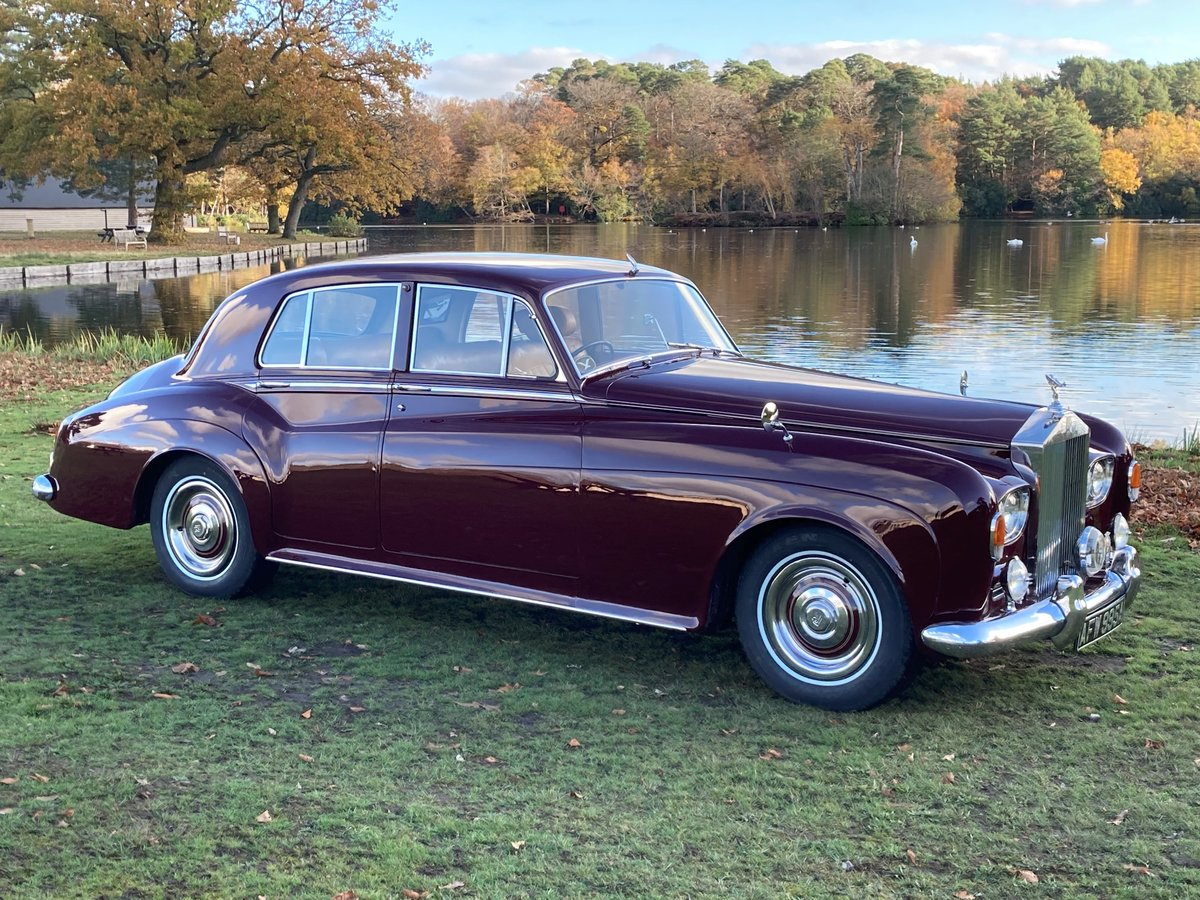 1963 Rolls-Royce Silver Cloud III Saloon For Sale (picture 1 of 1)