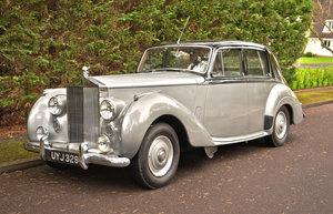 Picture of 1954 ROLLS ROYCE SILVER DAWN AUTO STANDARD STEEL SALOON For Sale