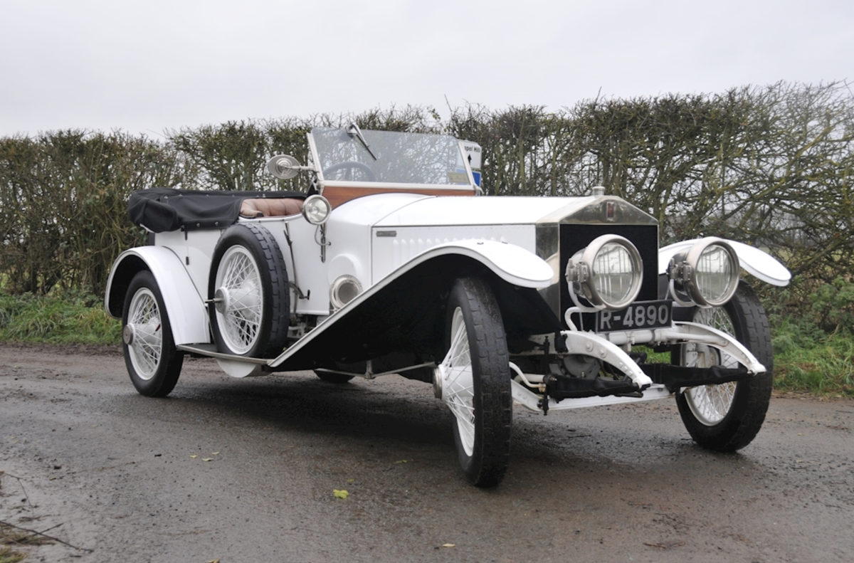 1920 Rolls-Royce Silver Ghost 40/50hp Robinson Continental Tourer For Sale (picture 1 of 6)