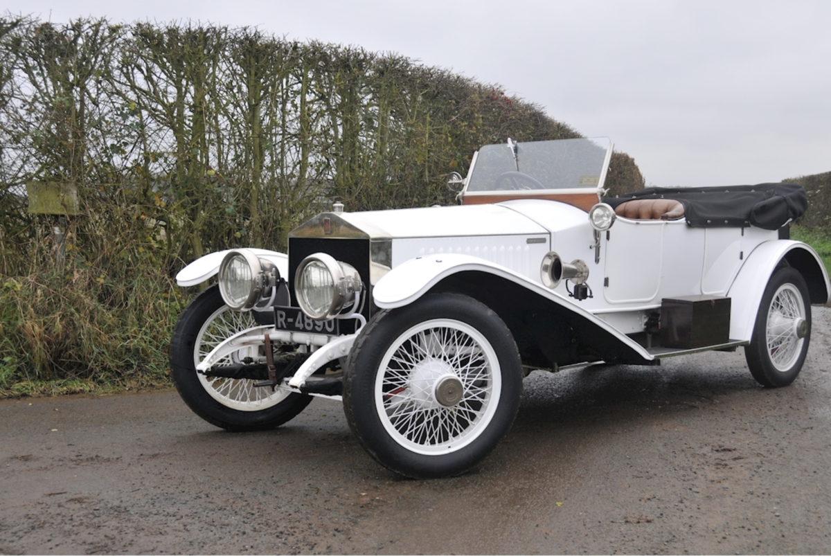 1920 Rolls-Royce Silver Ghost 40/50hp Robinson Continental Tourer For Sale (picture 2 of 6)