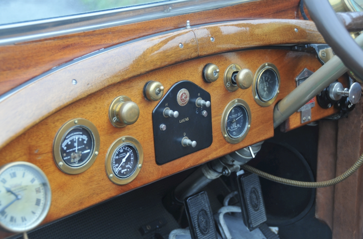 1920 Rolls-Royce Silver Ghost 40/50hp Robinson Continental Tourer For Sale (picture 3 of 6)