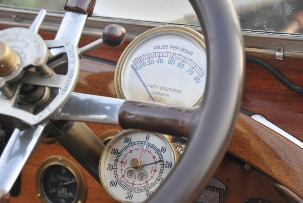 1920 Rolls-Royce Silver Ghost 40/50hp Robinson Continental Tourer For Sale (picture 5 of 6)