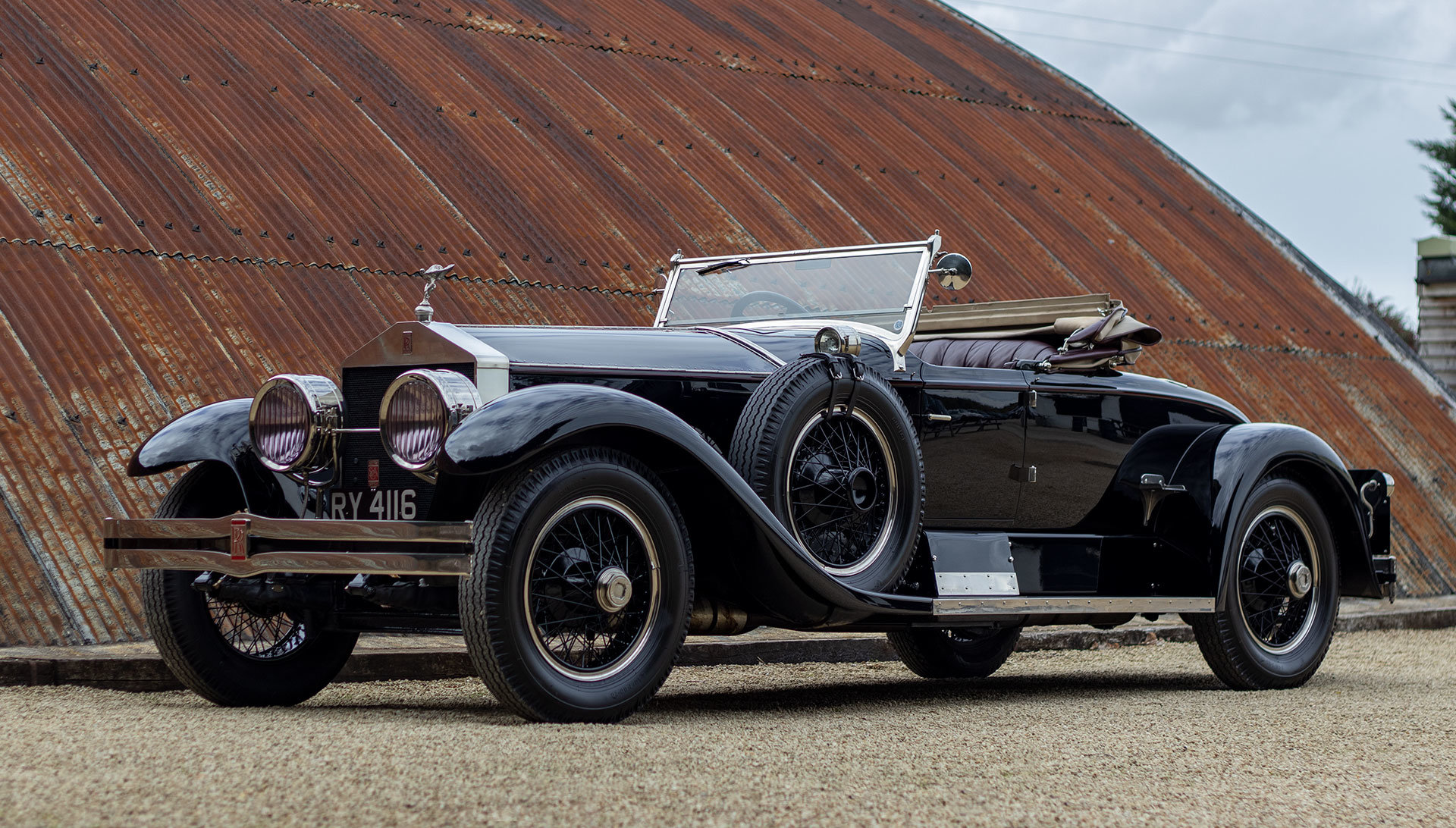 1924 Rolls-Royce Silver Ghost Piccadilly Roadster by Merrimac For Sale (picture 1 of 20)