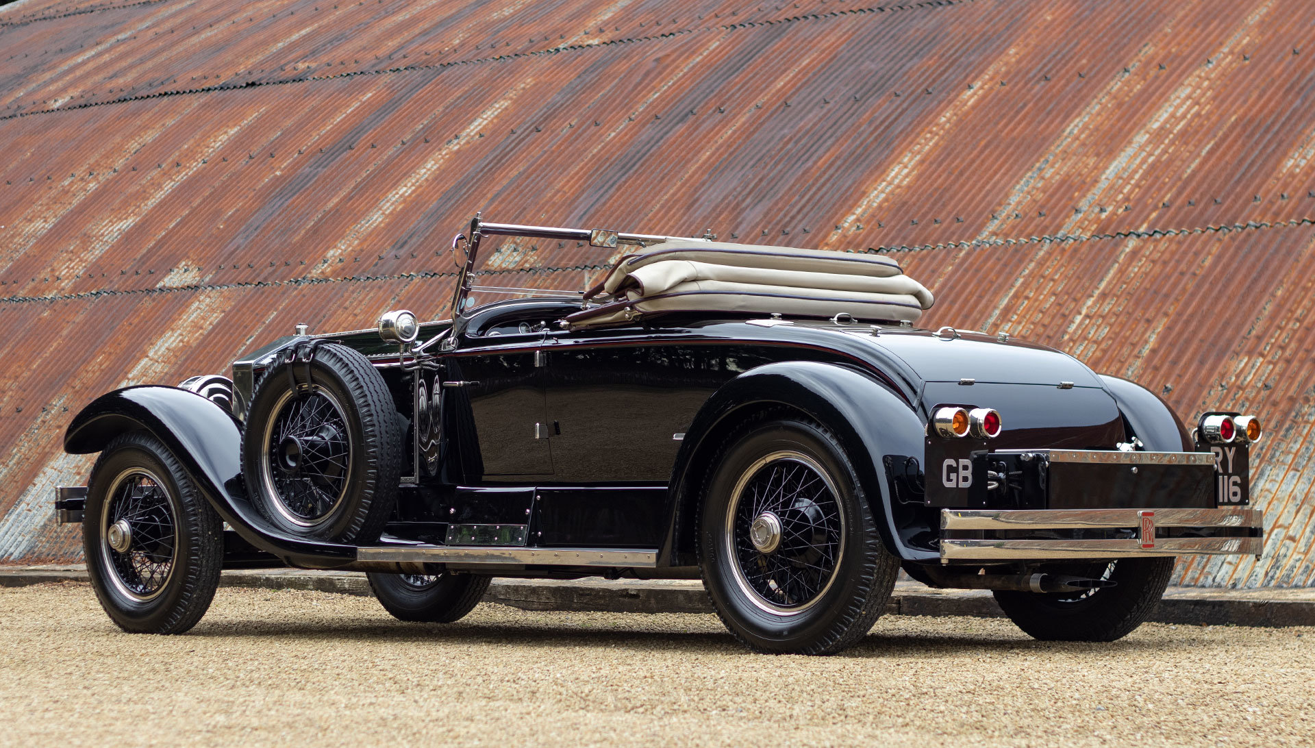 1924 Rolls-Royce Silver Ghost Piccadilly Roadster by Merrimac For Sale (picture 3 of 20)