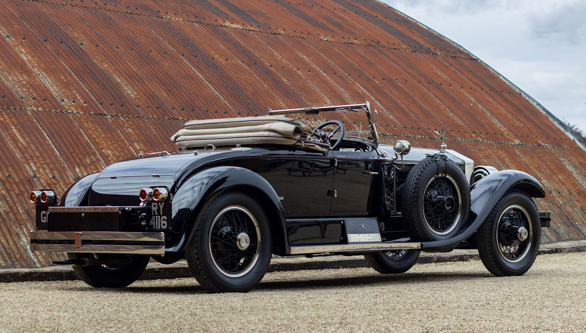 1924 Rolls-Royce Silver Ghost Piccadilly Roadster by Merrimac For Sale (picture 5 of 20)