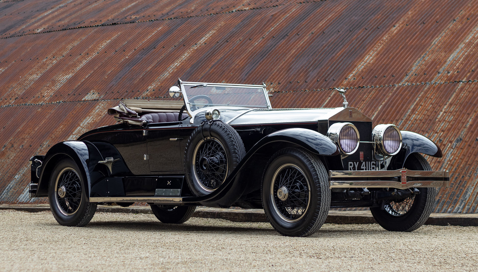 1924 Rolls-Royce Silver Ghost Piccadilly Roadster by Merrimac For Sale (picture 7 of 20)