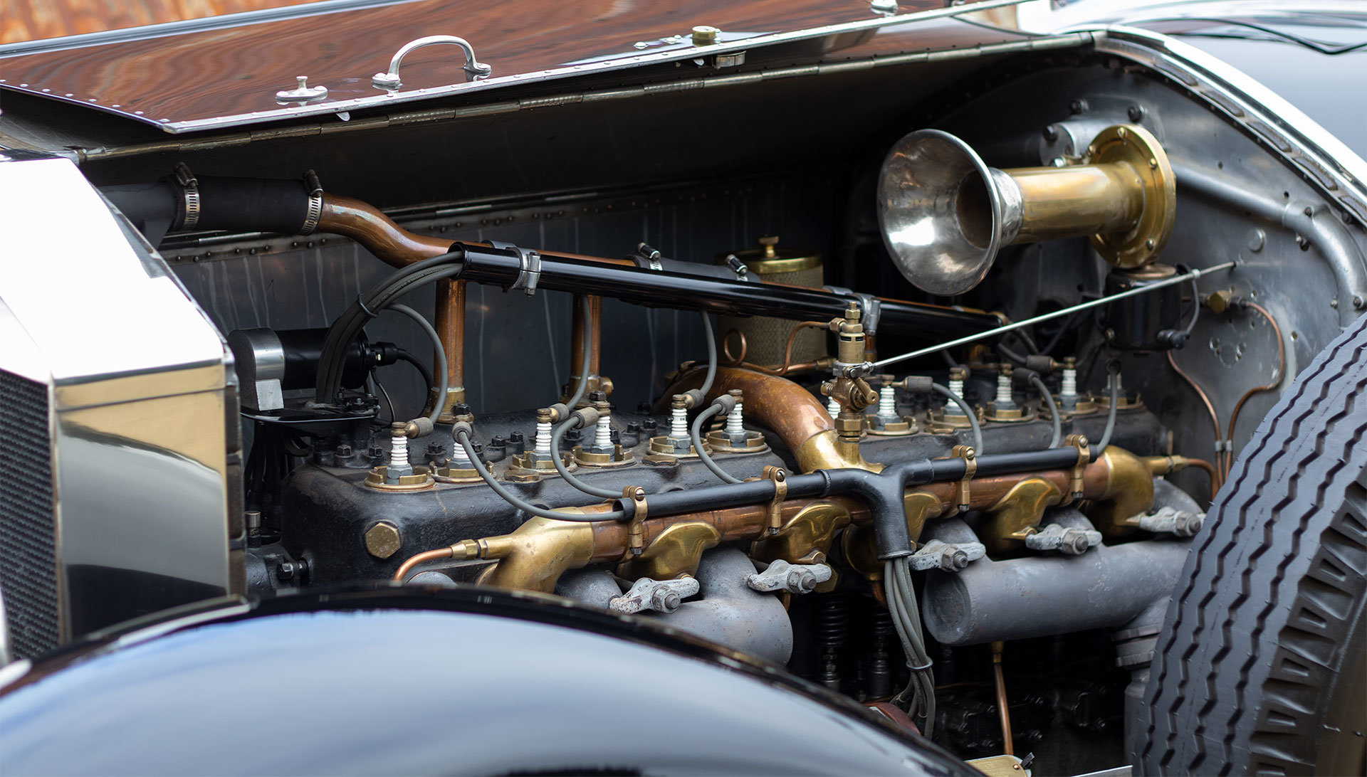 1924 Rolls-Royce Silver Ghost Piccadilly Roadster by Merrimac For Sale (picture 9 of 20)