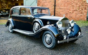 Picture of 1939 ROLLS ROYCE WRAITH THRUPP & MABERLY SPORTS SALOON. For Sale