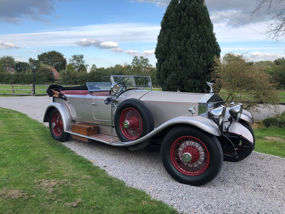 1927 Rolls Royce Phantom 1 Dual Cowl Tourer SOLD (picture 1 of 10)