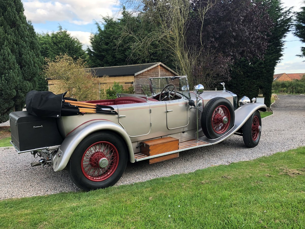 1927 Rolls Royce Phantom 1 Dual Cowl Tourer SOLD (picture 3 of 10)