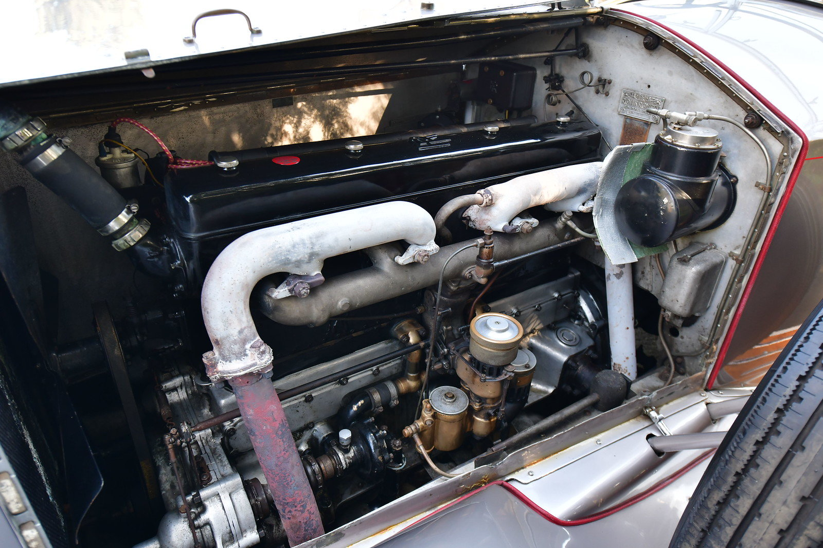 1927 Rolls Royce Phantom 1 Dual Cowl Tourer SOLD (picture 7 of 10)