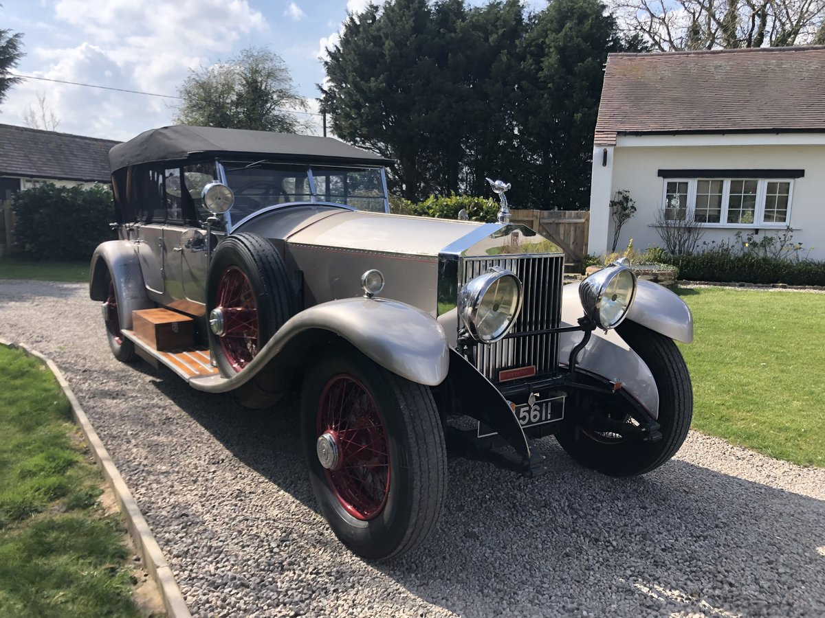 1927 Rolls Royce Phantom 1 Dual Cowl Tourer SOLD (picture 9 of 10)