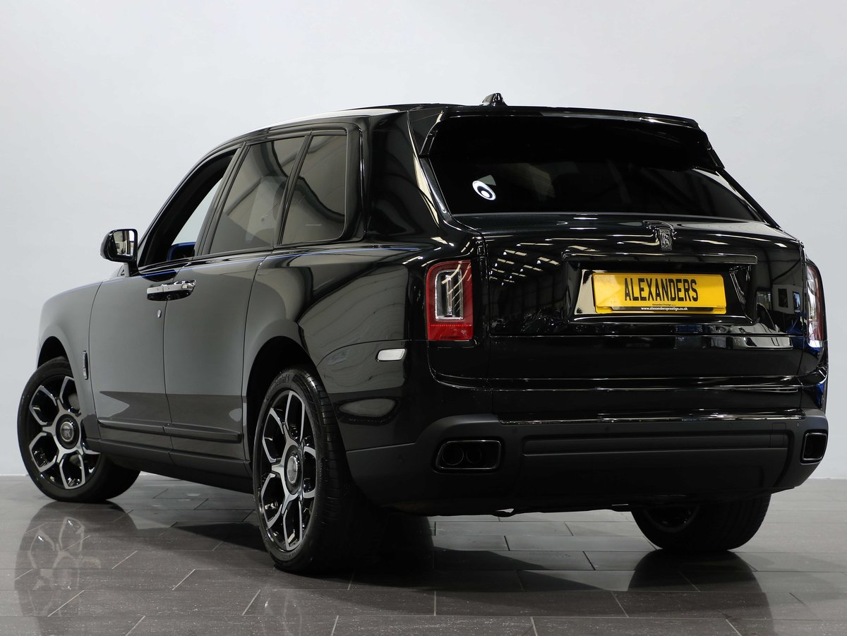 2020 20 20 ROLLS ROYCE CULLINAN BLACK BADGE 6.75 V12 AUTO For Sale (picture 3 of 12)