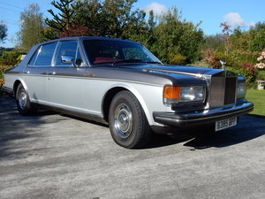 Picture of Rolls Royce Silver Spirit Mark I  1985. Two tone Oyster For Sale