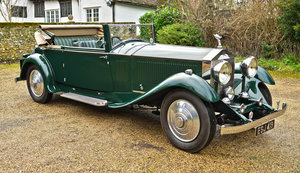 Picture of 1930 Rolls Royce Phantom 2 Continental Three Position Drophe For Sale