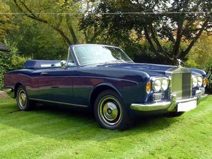 Picture of Rolls Royce Corniche Convertible 1971 low mileage For Sale