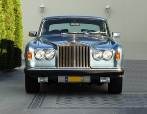 Picture of 1977 Rolls Royce Silver Shadow II, elegant Caribbean Blue For Sale