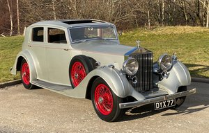 Picture of 1935 Rolls-Royce 25/30 Thrupp & Maberly Sports Saloon. GHO16 For Sale