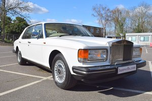 Picture of 1986 C Rolls Royce Silver Spur in Acrylic White For Sale