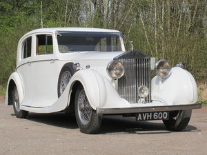 Picture of 1937 Rolls-Royce 20/25 Rippon Saloon 27th April For Sale by Auction