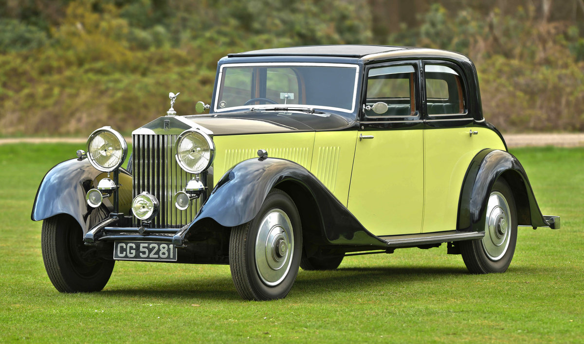 1933 Rolls Royce Hooper Sports Saloon. For Sale (picture 1 of 12)