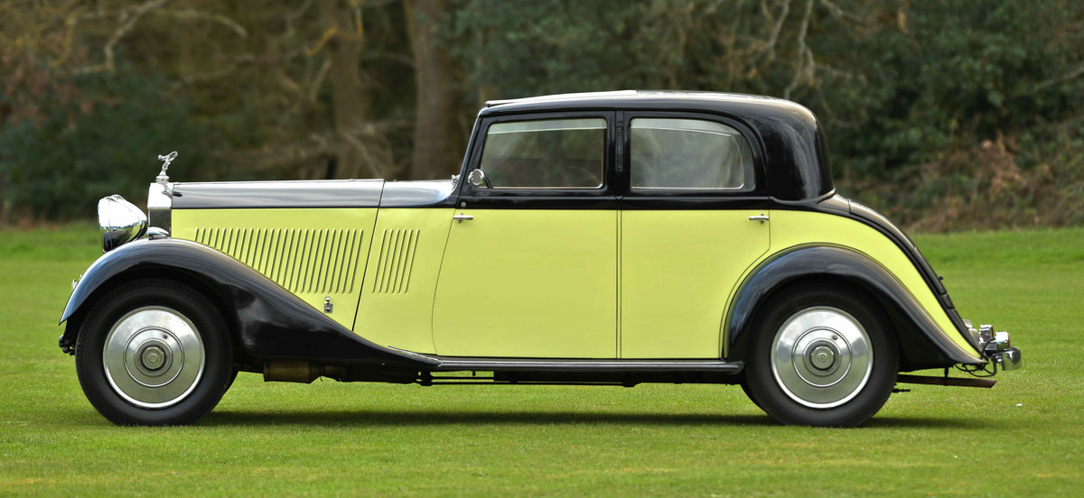 1933 Rolls Royce Hooper Sports Saloon. For Sale (picture 3 of 12)