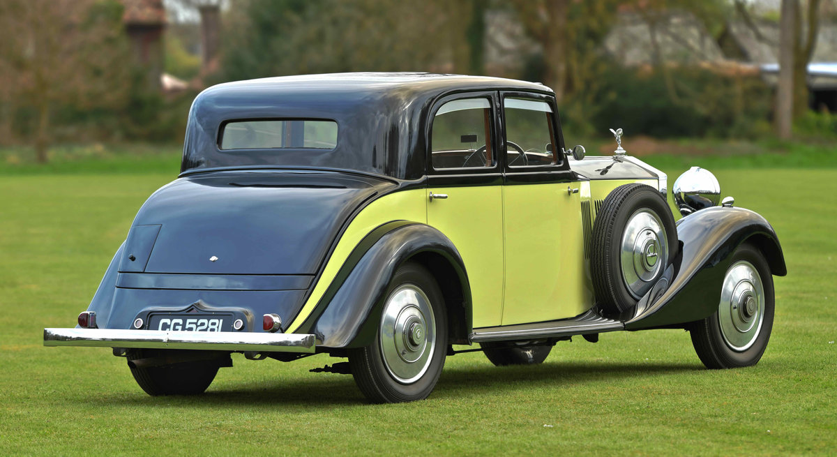 1933 Rolls Royce Hooper Sports Saloon. For Sale (picture 4 of 12)