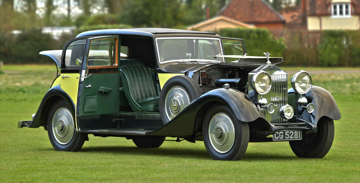 1933 Rolls Royce Hooper Sports Saloon. For Sale (picture 5 of 12)