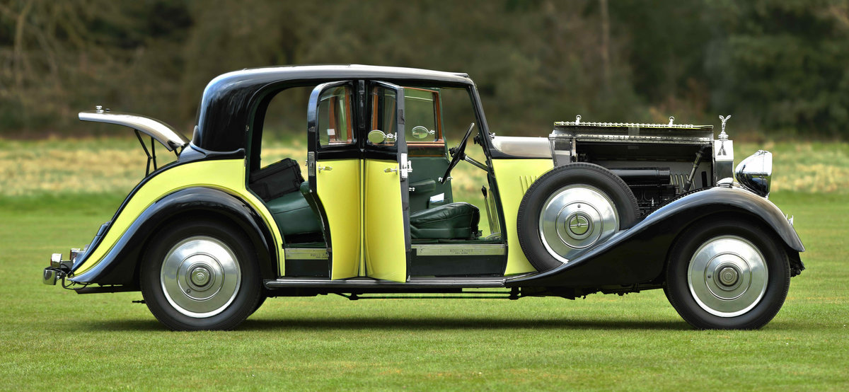 1933 Rolls Royce Hooper Sports Saloon. For Sale (picture 7 of 12)