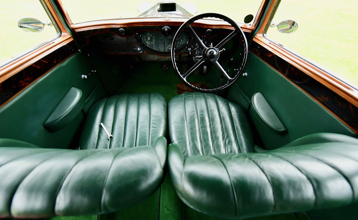 1933 Rolls Royce Hooper Sports Saloon. For Sale (picture 8 of 12)