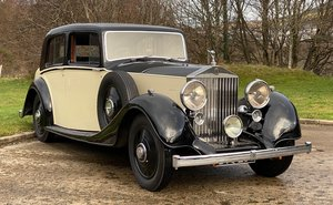 Picture of 1937 Rolls-Royce 25/30 Mann Egerton Saloon GUN28 For Sale