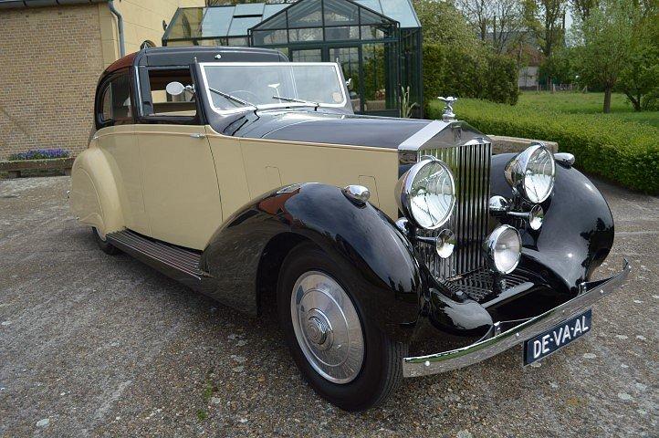 1937 Rolls-Royce 25-30 Gurney Nutting Sedanca de Ville For Sale (picture 1 of 12)