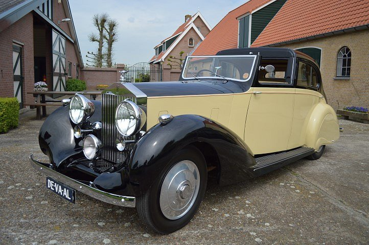 1937 Rolls-Royce 25-30 Gurney Nutting Sedanca de Ville For Sale (picture 2 of 12)