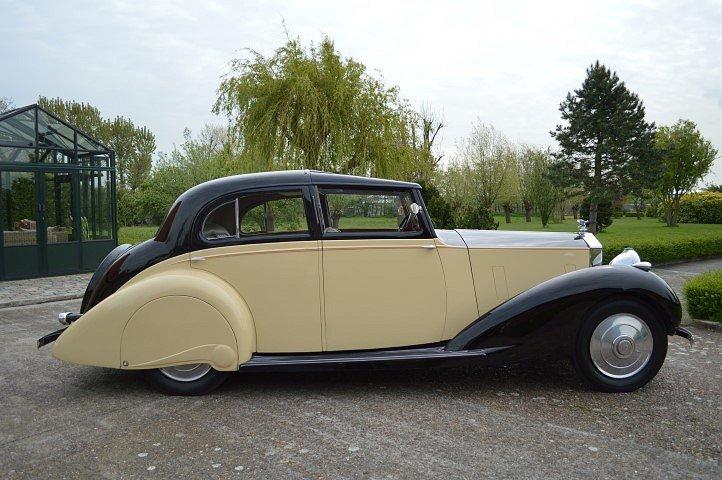 1937 Rolls-Royce 25-30 Gurney Nutting Sedanca de Ville For Sale (picture 3 of 12)