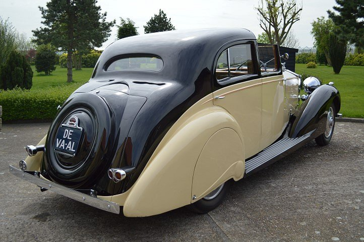 1937 Rolls-Royce 25-30 Gurney Nutting Sedanca de Ville For Sale (picture 5 of 12)