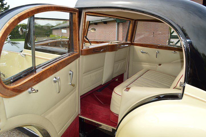 1937 Rolls-Royce 25-30 Gurney Nutting Sedanca de Ville For Sale (picture 8 of 12)
