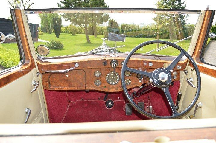1937 Rolls-Royce 25-30 Gurney Nutting Sedanca de Ville For Sale (picture 9 of 12)