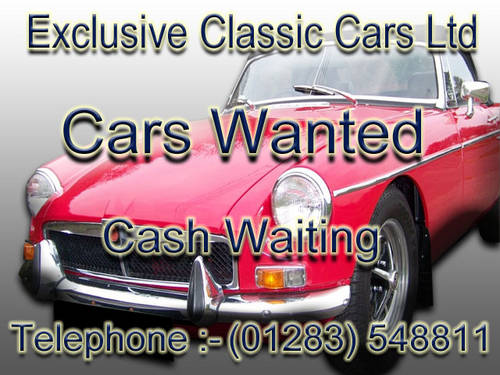 WANTED - ROLLS ROYCE - CLASSIC CAR Wanted (picture 1 of 1)