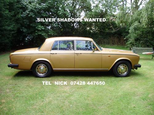All Silver Shadows Wanted Wanted (picture 1 of 2)
