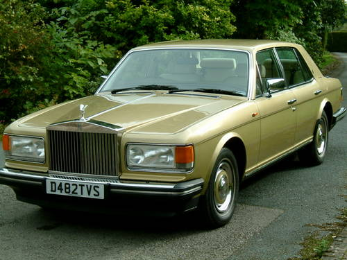 Rolls Royce Silver Spirit 1987 Fuel Injection Abs Sold