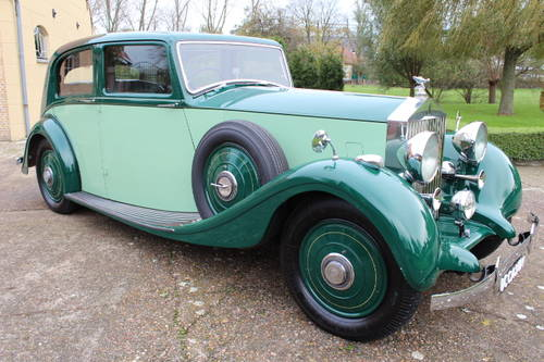 1937 Rolls-Royce 25/30 Park Ward Touring Limousine For Sale (picture 1 of 6)