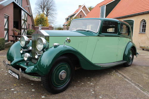 1937 Rolls-Royce 25/30 Park Ward Touring Limousine For Sale (picture 2 of 6)