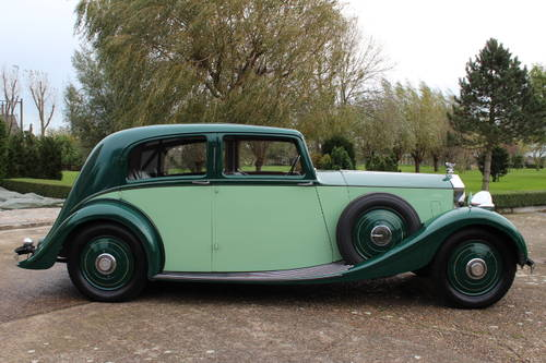 1937 Rolls-Royce 25/30 Park Ward Touring Limousine For Sale (picture 3 of 6)