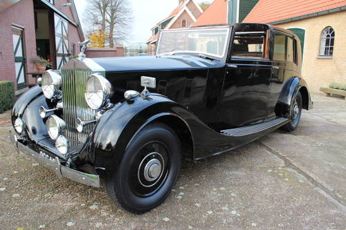 1937 Rolls-Royce Phantom III Windovers Sedanca de Ville For Sale (picture 2 of 6)