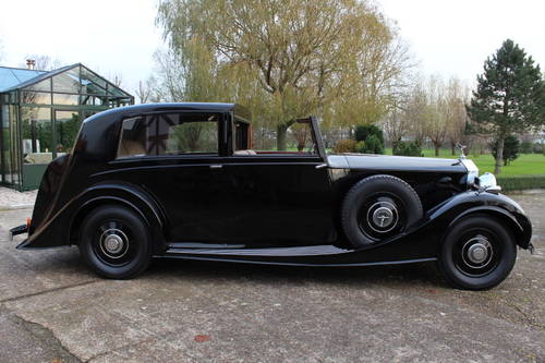 1937 Rolls-Royce Phantom III Windovers Sedanca de Ville For Sale (picture 3 of 6)