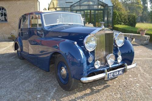 1947 Rolls-Royce  Silver Wraith - Harwood For Sale (picture 1 of 6)