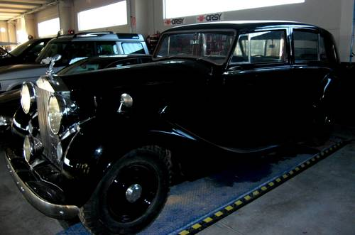 1949 Rolls Royce Silver Wraith Hooper Limousine For Sale (picture 1 of 6)