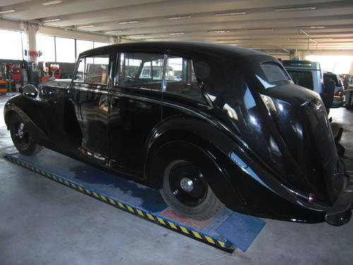 1949 Rolls Royce Silver Wraith Hooper Limousine For Sale (picture 2 of 6)